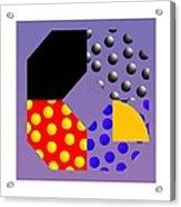 Square Dance Acrylic Print