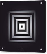 Square Pulse V15.1 Acrylic Print by Guardians of the Future