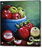 Srb Apple Bowl Acrylic Print