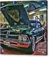 Ss In The Shop Hdr Acrylic Print