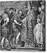 St. Ambrose & Theodosius Acrylic Print