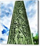 St Augustines Cross Close Up Acrylic Print