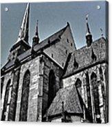 St. Bartholomew Cathedral - Pilsen Acrylic Print