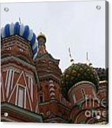 St. Basil's Cathedral 19 Acrylic Print