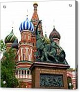 St. Basil's Cathedral 23 Acrylic Print