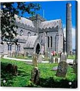 St Canices Cathedral &, Round Tower Acrylic Print