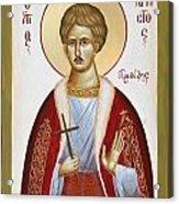St Chrestos Of Preveza Acrylic Print