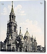 St. Demitry Church - Charkow - Ukraine - Ca 1900 Acrylic Print