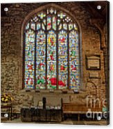 St Dyfnog Church Acrylic Print
