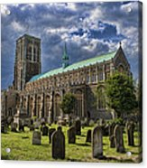 St Edmund King And Martyr Southwold Acrylic Print