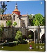 St Goncalo Cathedral Acrylic Print by Carlos Caetano