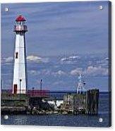 St. Ignace Lighthouse Acrylic Print