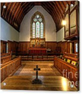 St John's Church Altar - Filey  Acrylic Print