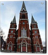 St. Josaphat Roman Catholic Church Detroit Michigan Acrylic Print by Gordon Dean II