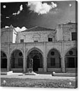 St Josephs Convent And Catholic Church St Joseph De L Apparition Larnaca Republic Cyprus Acrylic Print by Joe Fox