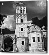 St Lazarus Church With Belfry Larnaca Republic Of Cyprus Europe Acrylic Print