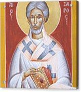 St Lazarus Acrylic Print
