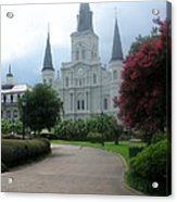 St. Louis Cathedral Ll Acrylic Print