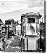 St Louis Cemetery - New Orleans Acrylic Print