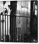 St Louis Cemetery Number One Tombs And Wrought Iron Acrylic Print