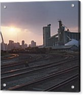 St. Louis: Freight Yard Acrylic Print