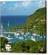 St Lucia Acrylic Print