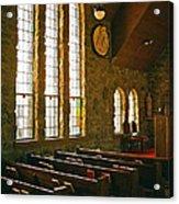 St Malo Church Acrylic Print