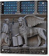 St. Marco And The Lion Acrylic Print