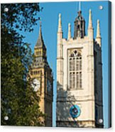 St Margarets Church Westminster  Acrylic Print