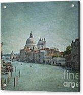 St Maria Della Salute Acrylic Print
