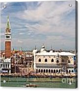 St. Marks Square Venice Acrylic Print