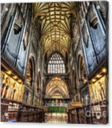 St Mary Acrylic Print by Adrian Evans