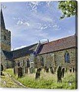 St Mary Lamberhurst Acrylic Print