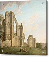 St Mary's Abbey -york Acrylic Print