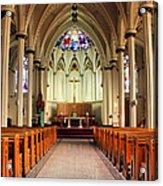 St. Mary's Basilica Halifax Acrylic Print