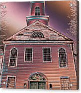 St. Mary's Episcopal Church In Pastel Acrylic Print