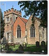 St Marys Harefield Acrylic Print