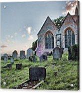 St Michael's East Peckham Acrylic Print