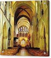 St. Patricks Cathedral, Dublin, Ireland Acrylic Print