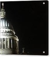 St Pauls At Night Acrylic Print