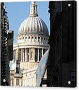St Pauls Cathedral - London Acrylic Print