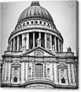 St. Paul's Cathedral In London Acrylic Print