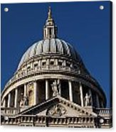 St Pauls Cathedral London Acrylic Print