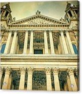St Pauls Standing Acrylic Print