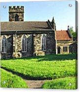 St Peter's Church - Hartshorne Acrylic Print