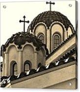 St Piasius Acrylic Print