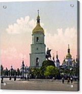 St Sophia Cathedral In Kiev - Ukraine - Ca 1900 Acrylic Print