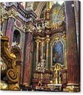 St Stanislaus - Posnan Poland Acrylic Print