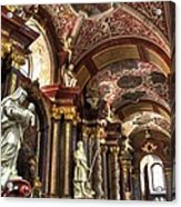 St Stanislaus Church - Posnan Poland Acrylic Print