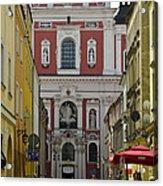 St Stanislaus Church Exterior Acrylic Print